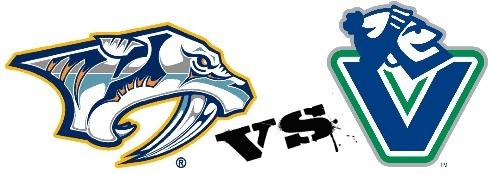 Predators vs. Canucks