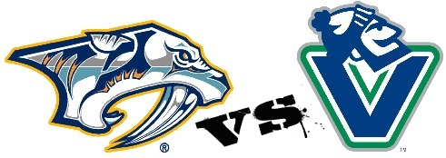 Predators vs. Canucks