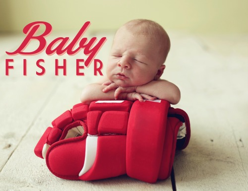 Note: Not actual photo of baby Fisher